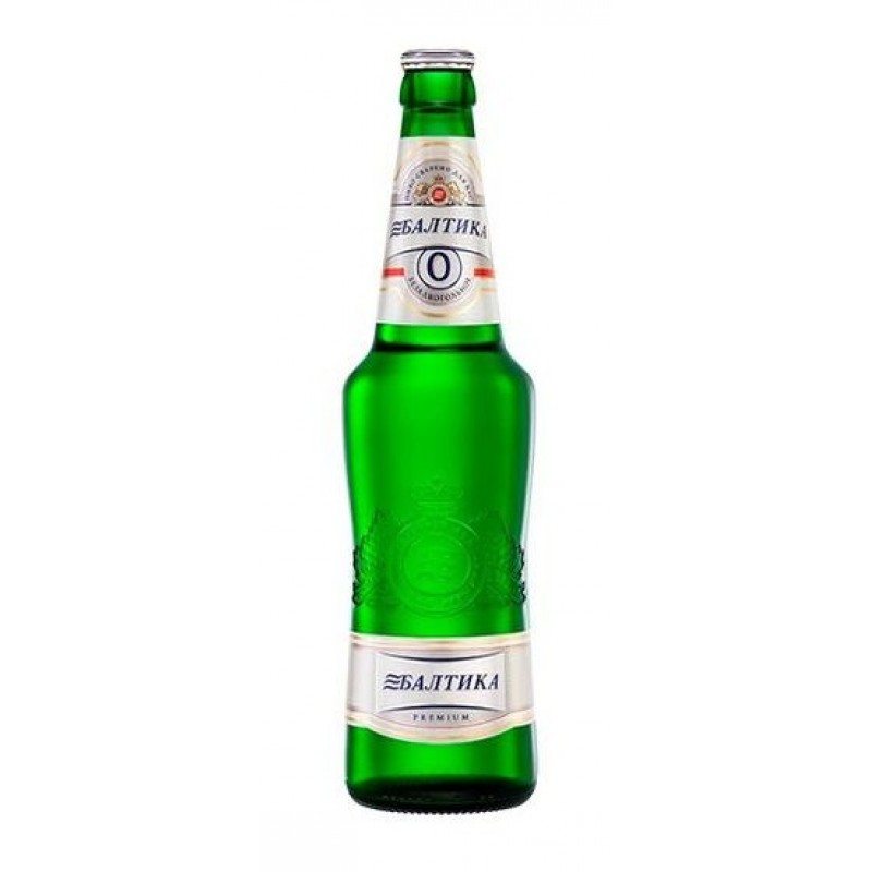 Baltika 0 Sin Alcohol Botella
